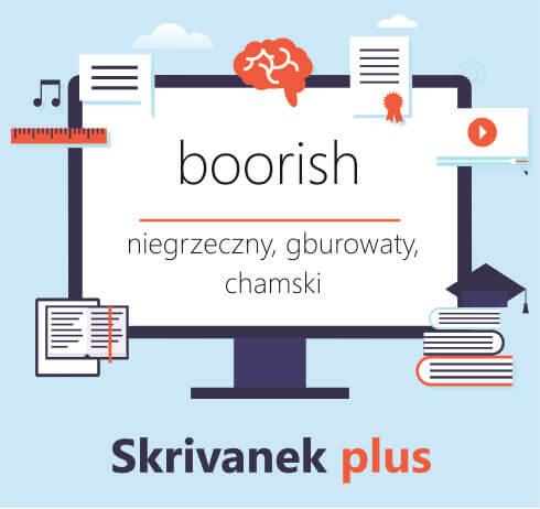 boorish