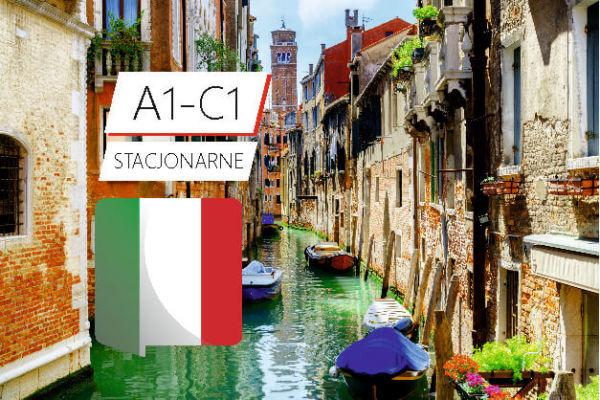 kurs języka włoskiego stacjonarny